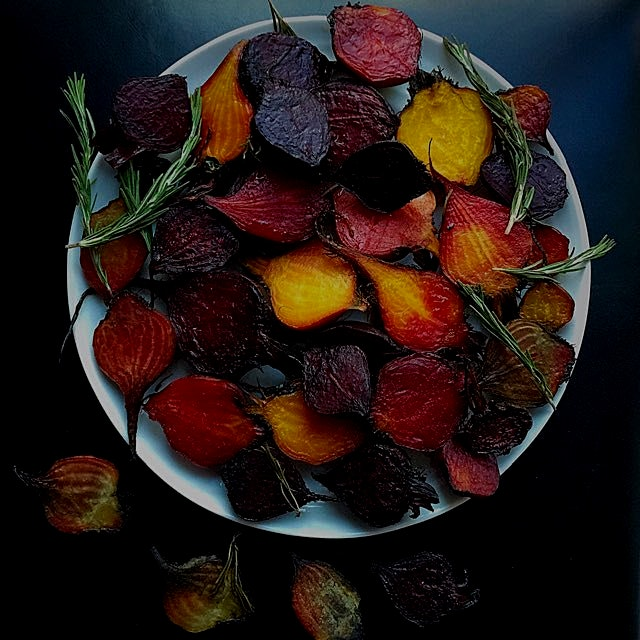 Roasted beets are that good, and their colors are sensational! #learnwhatsinyourfood