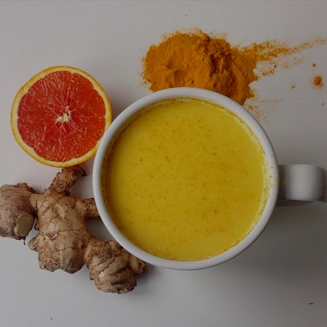 Orange Spice Turmeric Tea to heal and warm
