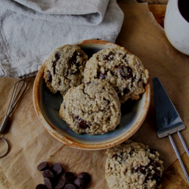 Gluten Free chocolate Chip Cookies, on my blog now!