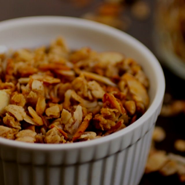 I made my Gluten Free Granola Goodness recipe to mix up my breakfast routine! Sometimes I get tir...