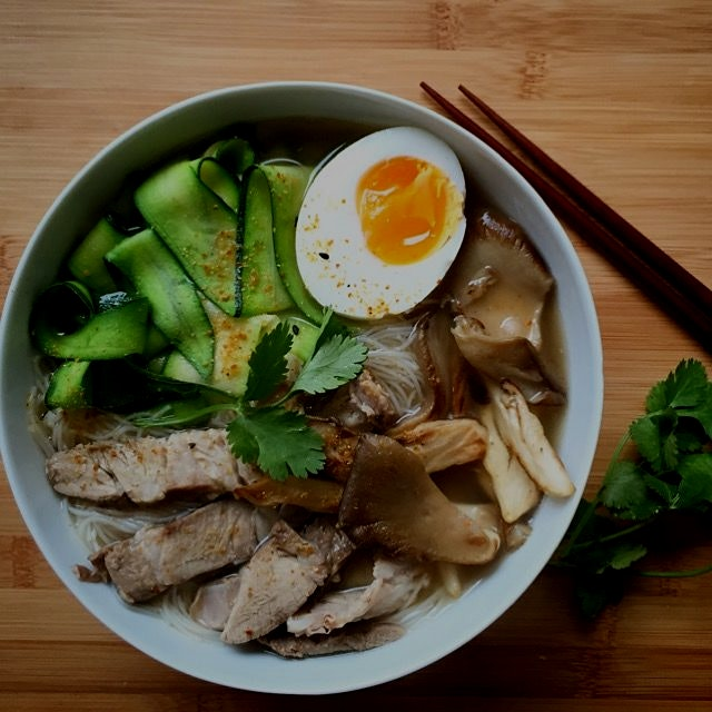 Seriously good Char Siew noodle soup!