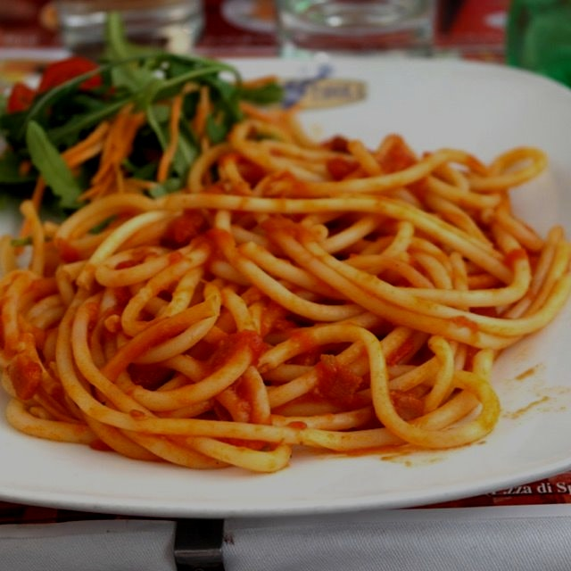 TBT: Buccatini in Rome