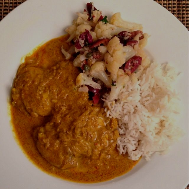 Chicken murgh masala