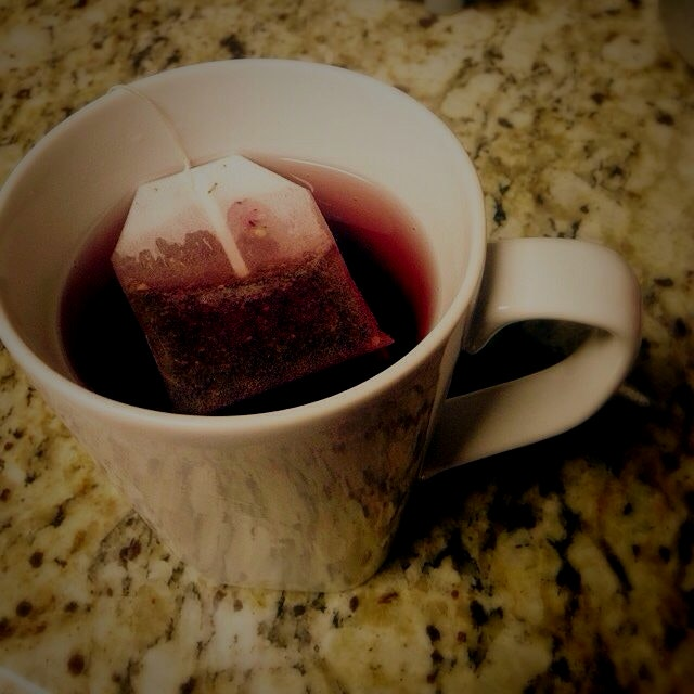 Pomegranate Green Tea on this cold winter morning in #atx #treatyoself