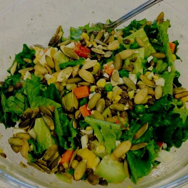 Kitchen sink super foods salad