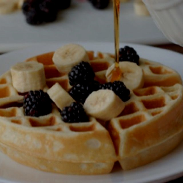Vanilla Bean Waffle recipe from my food blog, What's Cooking with Jim http://www.whatscookingwith...