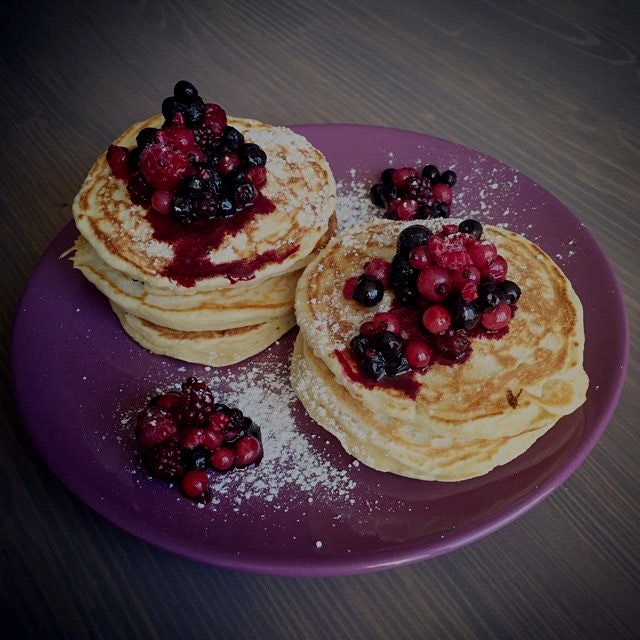 Low fat pancakes made from scratch  #GiftGoodEats