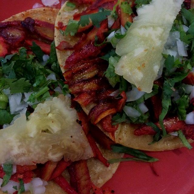 Tacos al Pastor, El Farolito, Mexico City