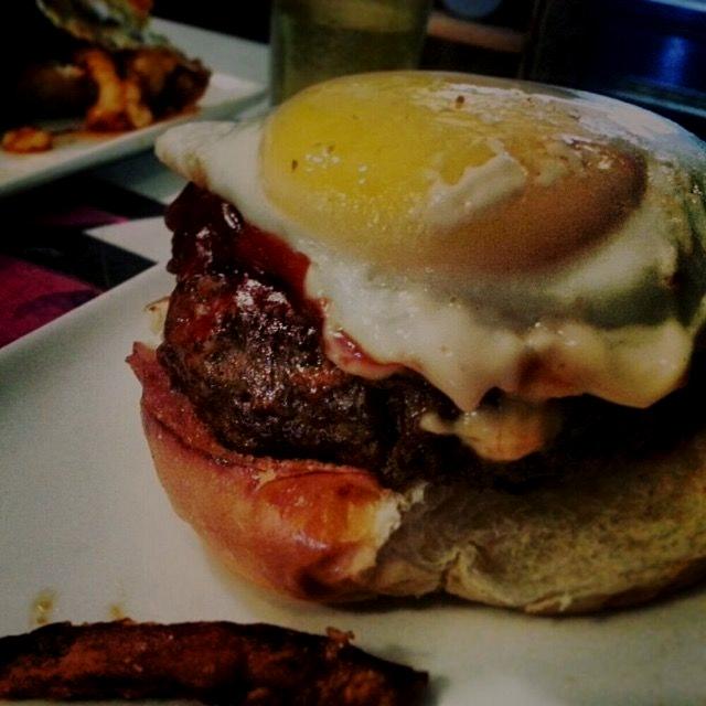 Chori Burger @ Jeepney Filipino Gastropub