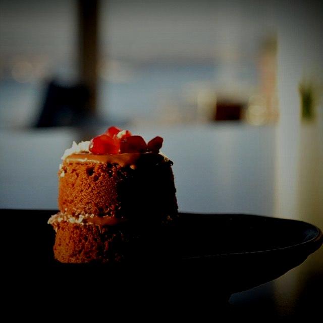 Chocolate nutella mini cakes