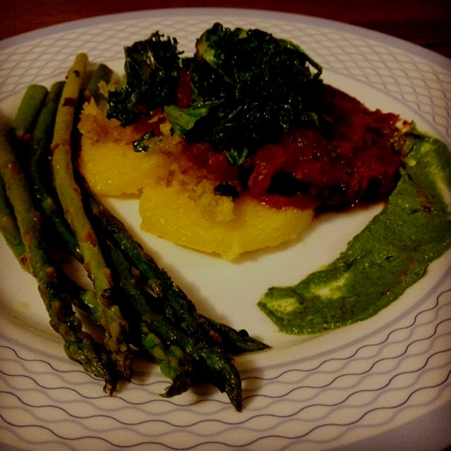 Getting creative with this #vegan cooking!