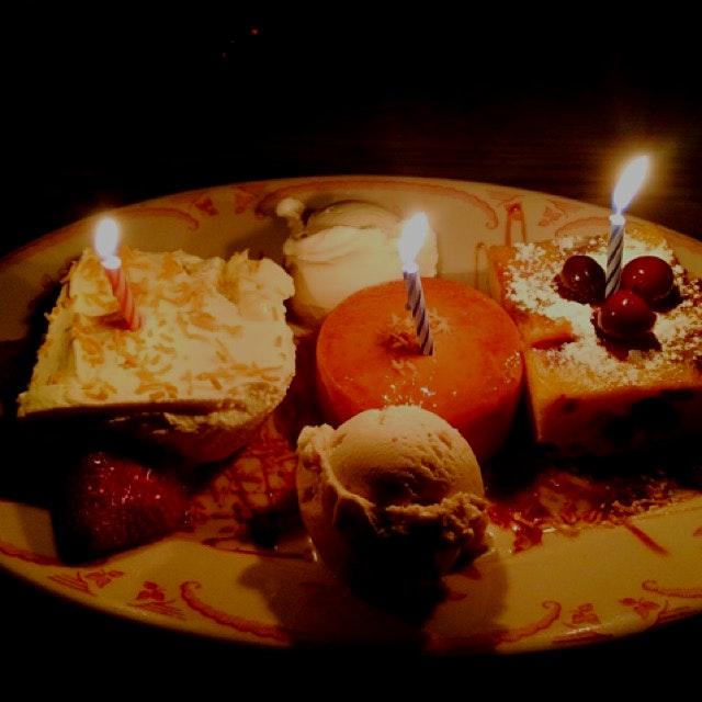 La Esquina - surprise desserts!!!