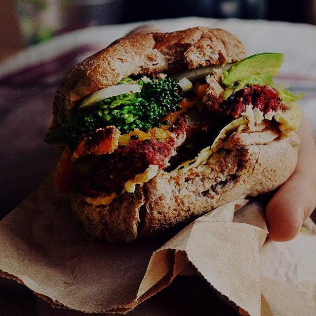 Homemade Veggie Burger 💛💛💛