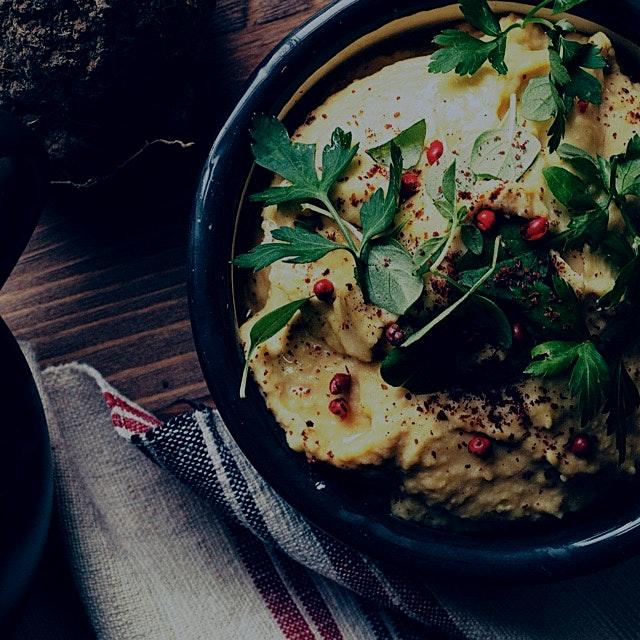 Egyptian hummus, the best 💛