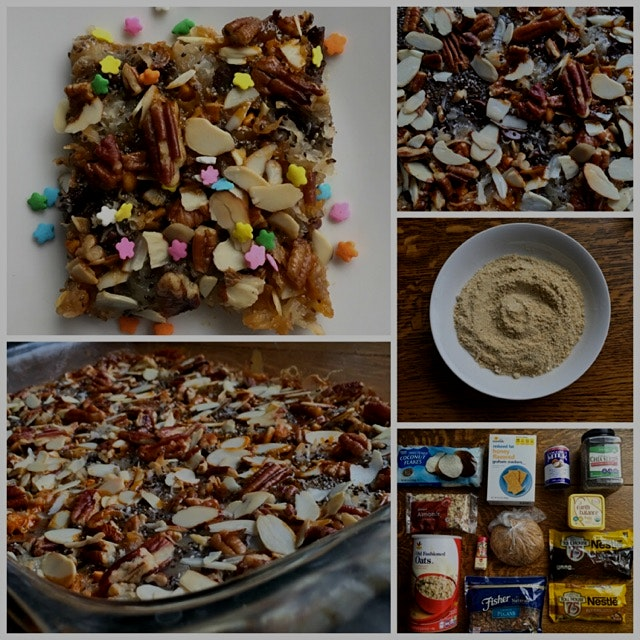 Today on the blog: Healthed Up Disney Magic Cookie Bars | http://wp.me/p4kZS7-fT