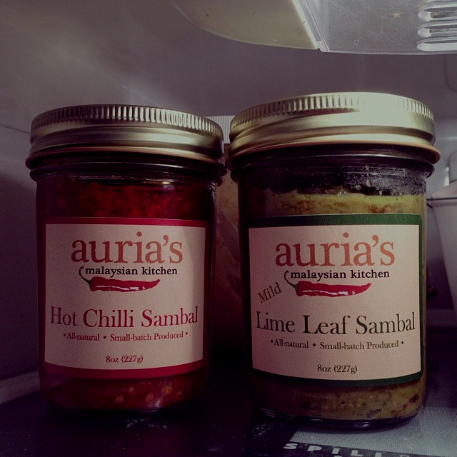 My two babies - see the family resemblance? :) #auriasmalaysiankitchen #thesamballady #brooklyn #...