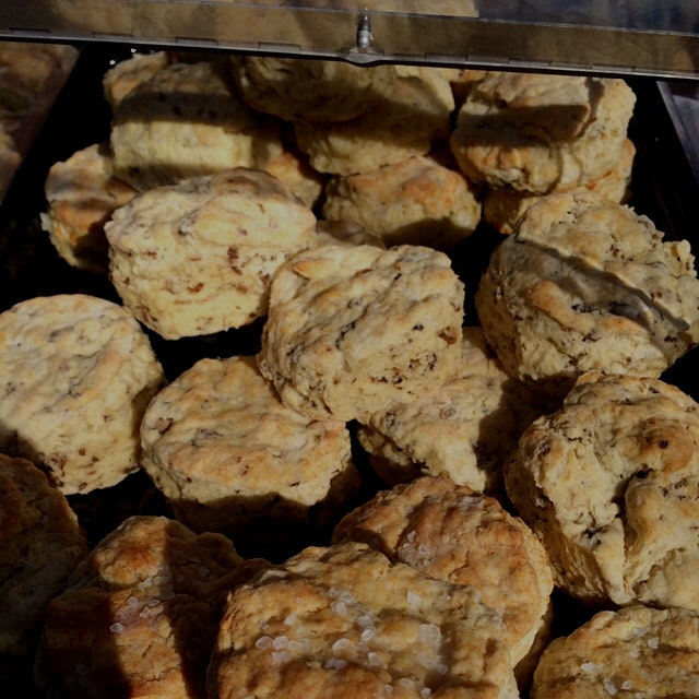 Brooklyn Biscuit Pop Up Sunday at 6/15 Green. Stop by and get your scone on!