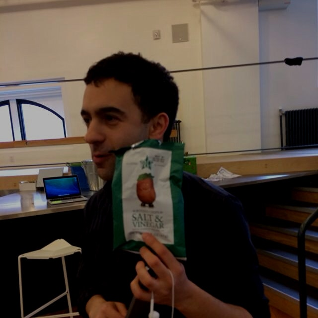 Jeremy loves potato chips