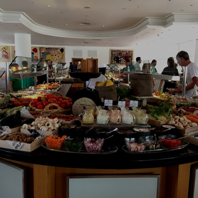Stunning multi station breakfast buffet at royal beach hotel Eilat Israel  Pic 1