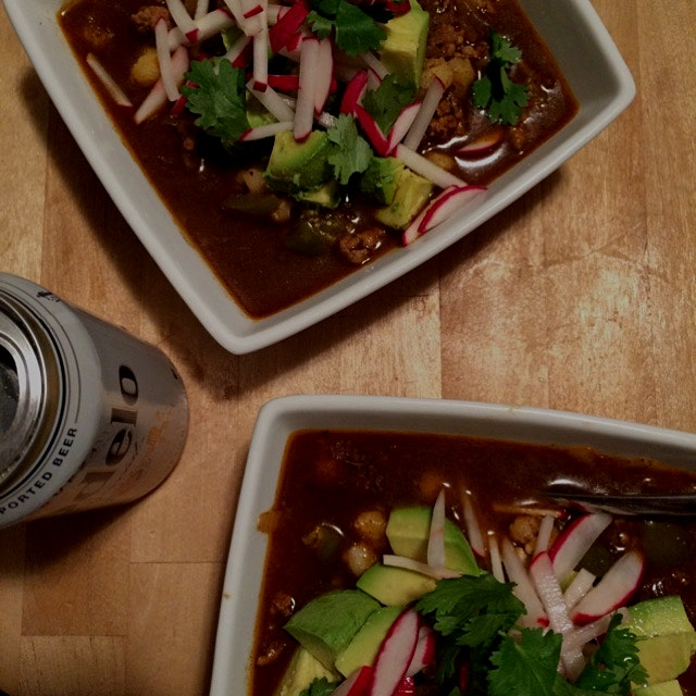 pork & tomatillo pozole for Cinco de Mayo #blueapron