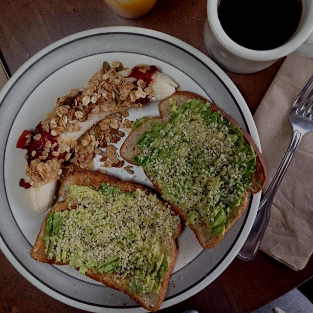 yummy vegan breakfast!