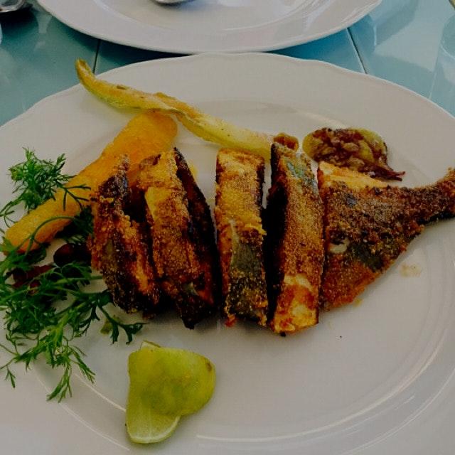Goan speciality #pomfret