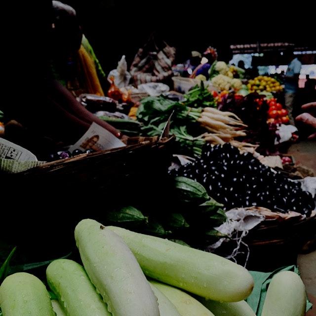 Bounty of fresh, local and in season fruits and veggies in Panaji, #Goa the original #farmersmarket