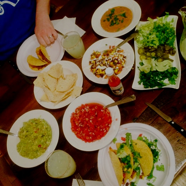 We went ahead and had a fiesta for Cinco de Mayo, complete with fresh margaritas, homemade pico d...