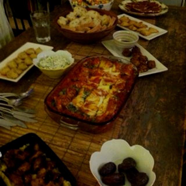 Iftar! Feasting.