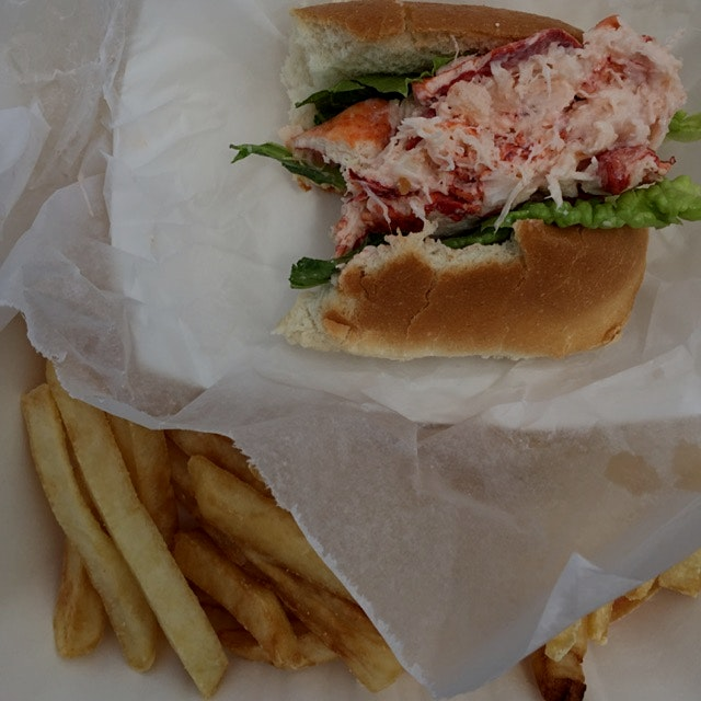 Kate's Seafood and Ice Cream in Brewster, MA...not to be missed