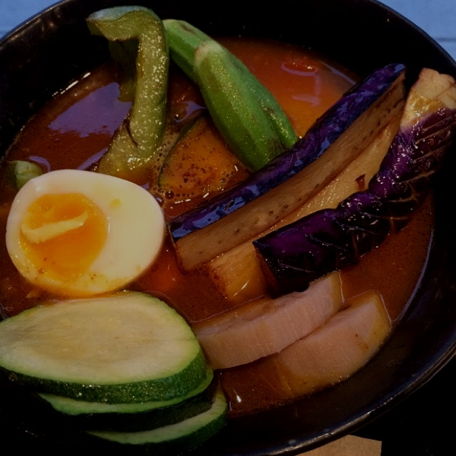 Vegetable soup curry from Goemon in Nolita