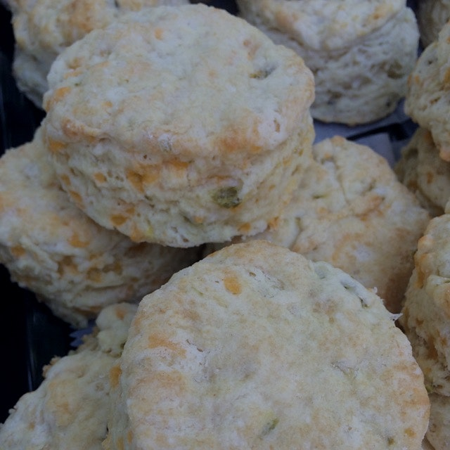 Brooklyn Biscuit Co. Pop Up at 6/15 Garden stop by and pick up a biscuit! Cheddar Hot Jalapeño.