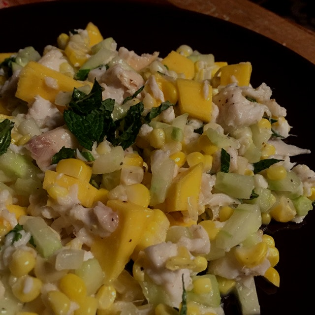 Weather-appropriate and diabetic-friendly salad from chef Sam Talbot's The Sweet Life cookbook: 1...