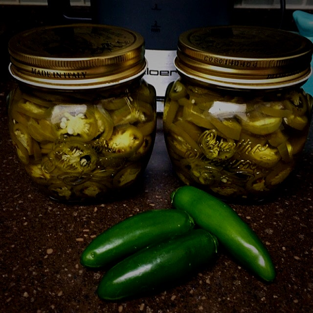 Made pickled Jalapeño  Peppers tonight!! I have developed quite a taste for them so I thought I w...