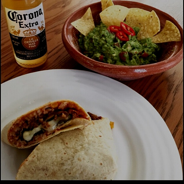 Felt like Burritos and Chilli Rellenos so I combined the two and made a Chilli Rellenos Stuffed B...