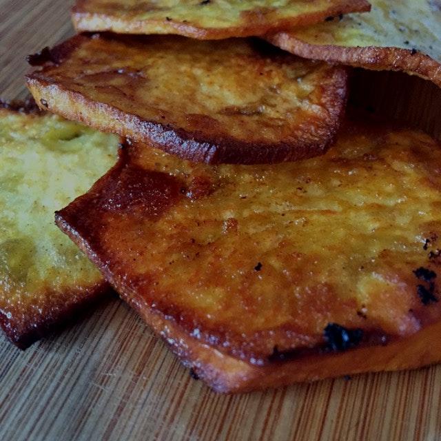 Homemade sweet potatoes fries