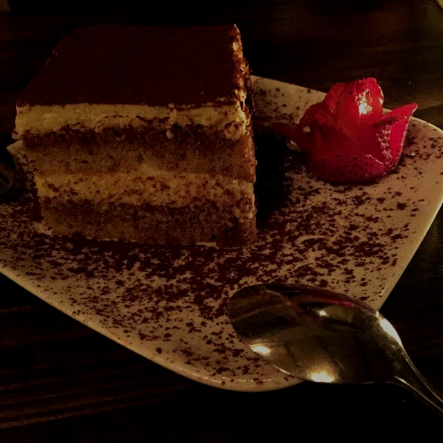 When is the last time that you had a gluten-free tiramisu?