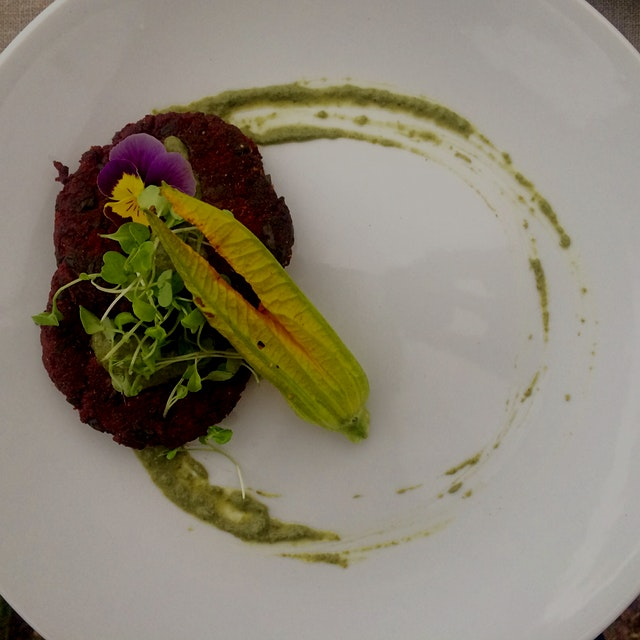 Farm to Table Cooking: Beet & Beet Green Pakoras (fritters) w/ Mint & Cilantro chutney. Gluten Fr...