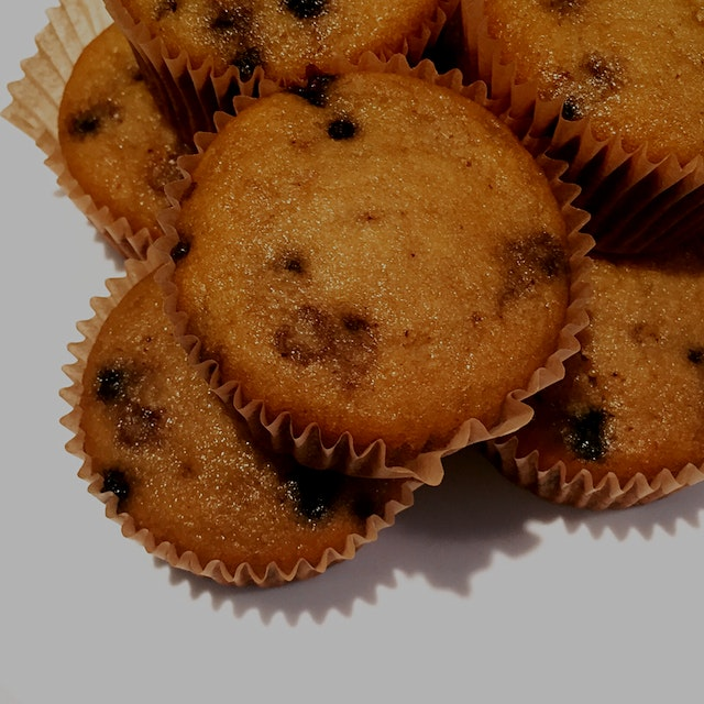 I use coconut flour for gluten-free blueberry muffins.