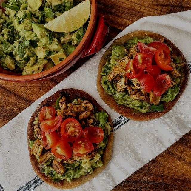 Homemade sopes using quinoa and millet flours. They turned out great- appropriately soft on the i...