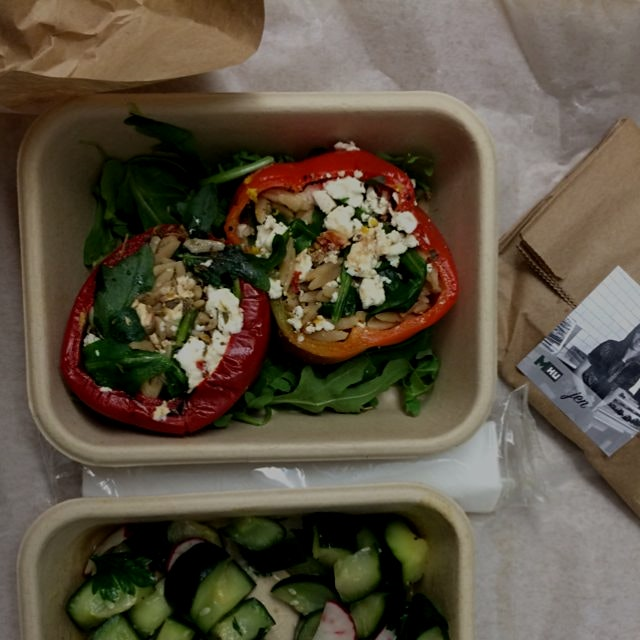 Thanks to our dear friends at @mealku for the delicious lunch delivered for $10, made by local ch...