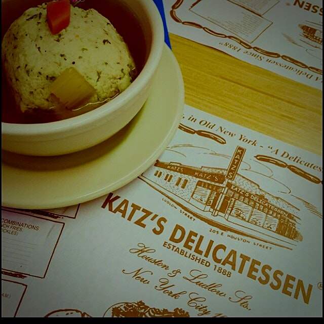 First time having Matzo Ball Soup!!! Loved it!!!