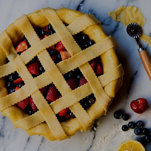 Mixed berries lattice pie for some summer baking fun!