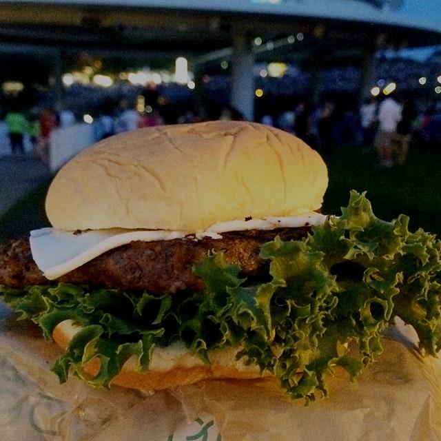 All Natural Burger at PNC Bank Arts Center