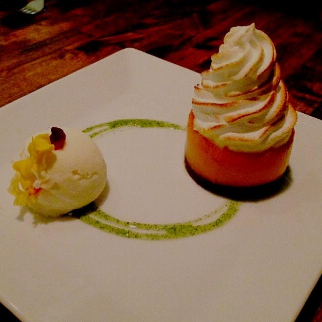 Carrot meringue @ Dirt Candy
