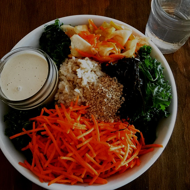 A Sesame Rice Bowl from @SeedToSprout down in Avon-By-The-Sea, NJ.