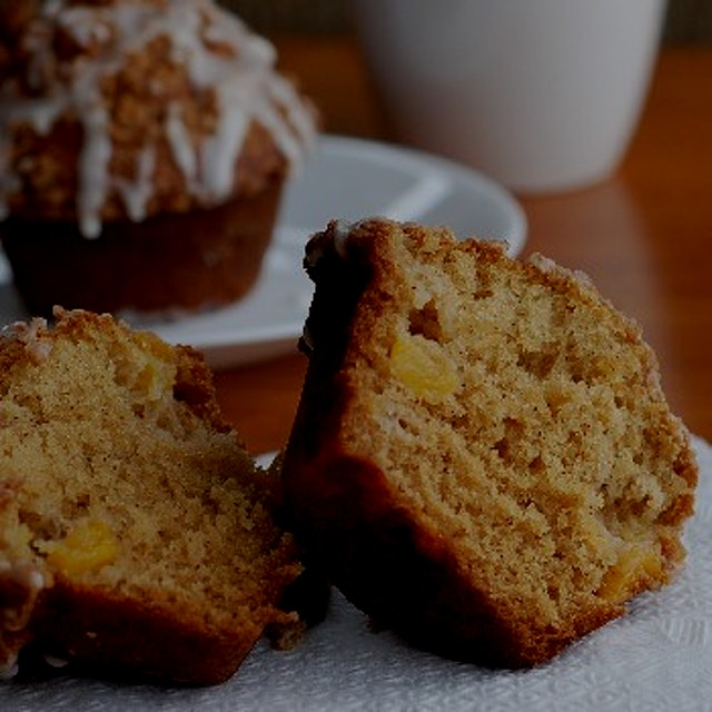 Peach Streusel Muffins from my food blog!