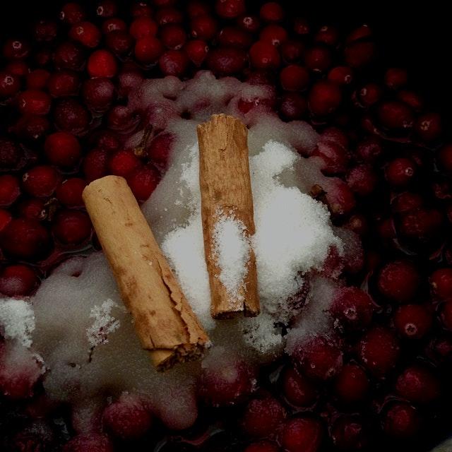 Cranberry Chutney. #RedEats