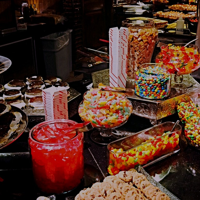 Serious candy bar at MetLife Stadium last night ;)