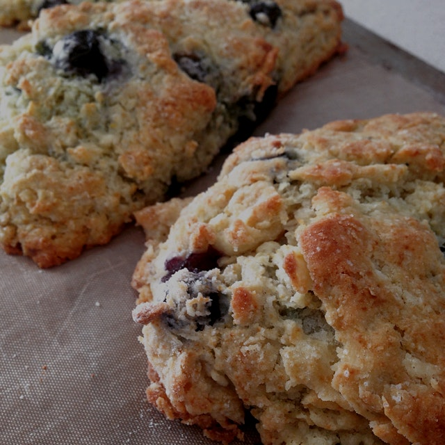 The best scones in NYC come from Donna Bell's Bake Shop. I'm about a million miles away from ther...